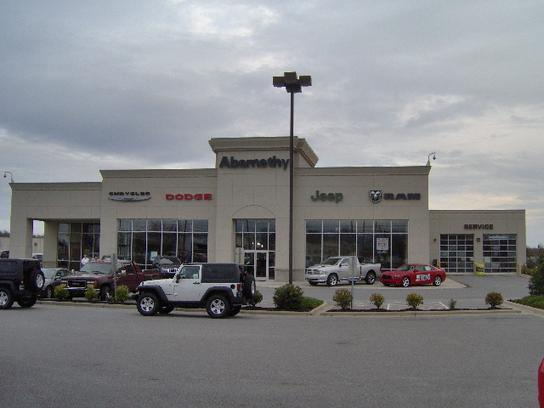 Abernethy Chrysler Jeep Dodge RAM car dealership in Lincolnton, NC