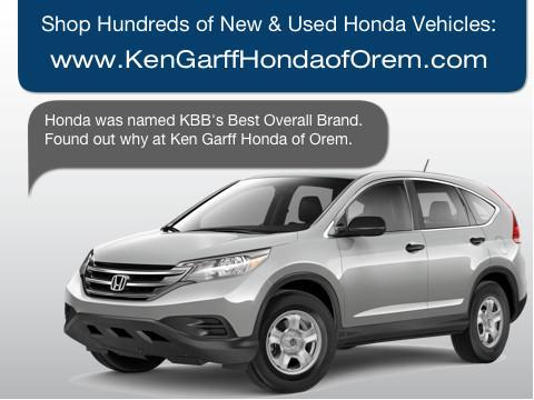 Ken Garff Orem >> Ken Garff Honda Of Orem Car Dealership In Orem Ut 84058