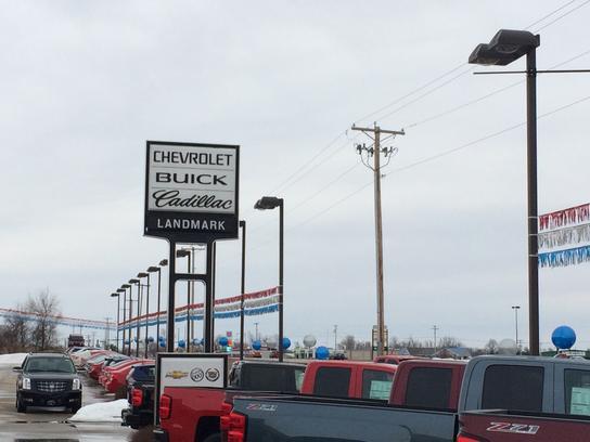 Landmark Chevrolet Buick GMC Cadillac car dealership in ...