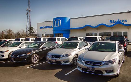 Stokes Honda North Car Dealership In Charleston SC 29406