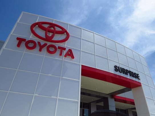 Toyota Of Surprise >> Toyota Of Surprise Car Dealership In Surprise Az 85388 Kelley