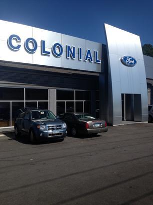 colonial ford car dealership in danbury ct 06811 kelley blue book. Black Bedroom Furniture Sets. Home Design Ideas