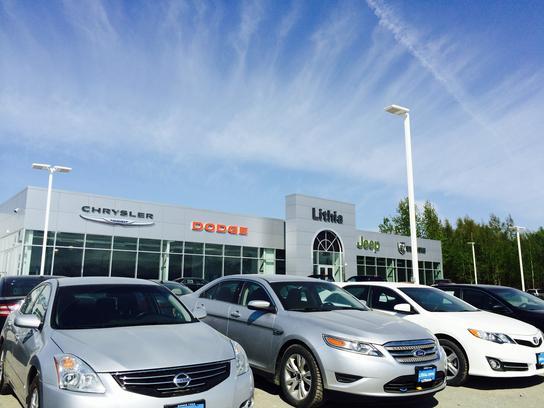 Lithia Chrysler Jeep Dodge RAM of Wasilla car dealership in WASILLA
