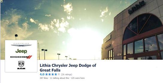 Lithia Chrysler Jeep Dodge RAM of Great Falls