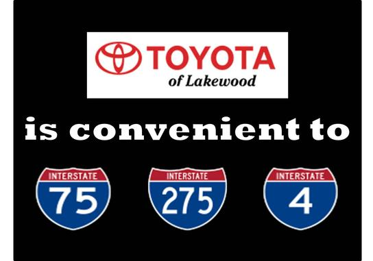 Gettel Toyota of Lakewood: I-75/Exit 220
