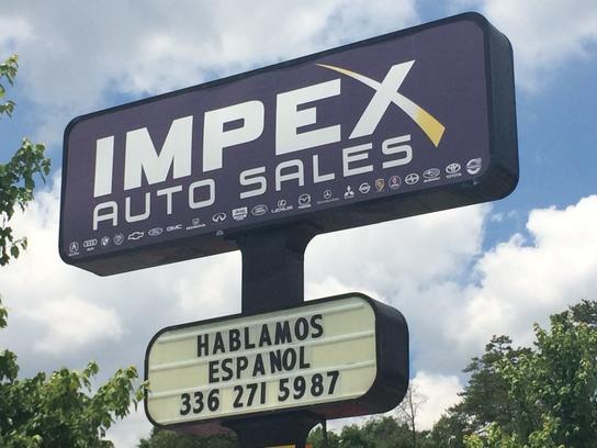Impex Auto Sales Reviews >> Impex Auto Sales car dealership in Greensboro, NC 27407 | Kelley Blue Book