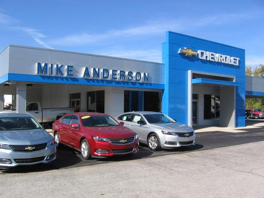 mike anderson chevrolet car dealership in ossian in 46777 kelley blue book. Black Bedroom Furniture Sets. Home Design Ideas