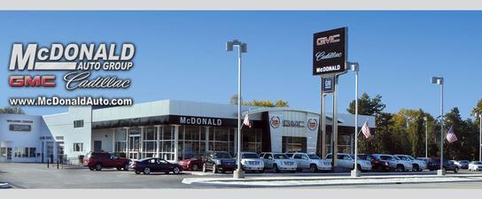 McDonald GMC Cadillac car dealership in Saginaw, MI 48603 ...