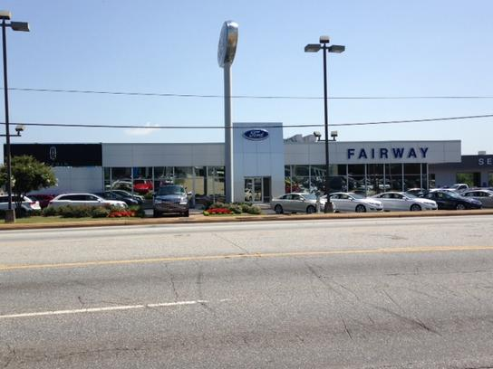 Fairway Ford Lincoln Subaru car dealership in Greenville, SC 29607