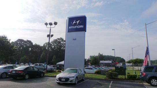Hall Hyundai Newport News car dealership in Newport News, VA 23605