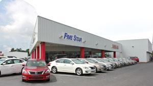 Nissan Florence Sc >> Five Star Nissan Florence Car Dealership In Florence Sc