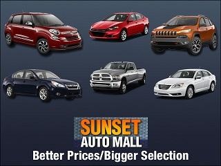 Sunset Dodge, Chrysler, Jeep, Ram, Maserati, Alfa Romeo, FIAT, S