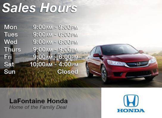 LaFontaine Honda car dealership in DEARBORN, MI 48124 | Kelley Blue