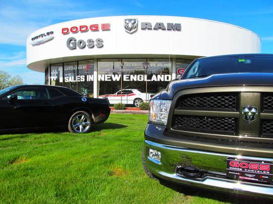 Goss Dodge Chrysler Jeep Car Dealership In South Burlington Vt