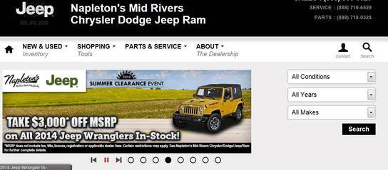 Napleton's Mid Rivers Chrysler Dodge Jeep RAM 1