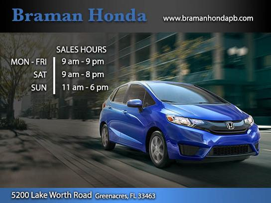 Braman Honda Of Palm Beach Car Dealership In Greenacres, FL 33463 3352 |  Kelley Blue Book