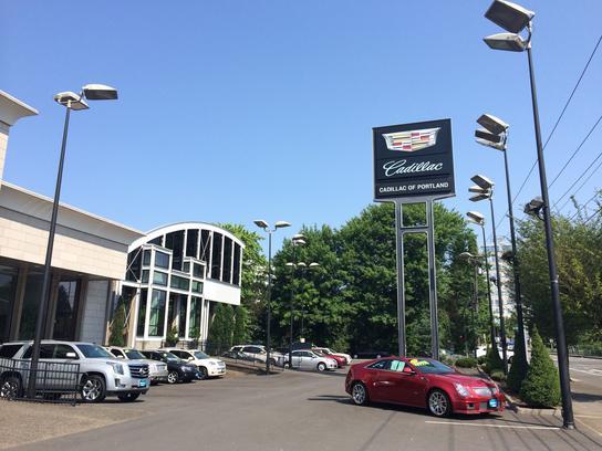 Cadillac Of Portland >> Portland Cadillac Car Dealership In Portland Or 97225