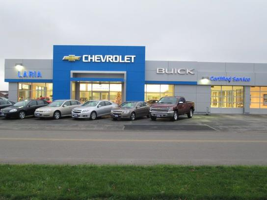 laria chevrolet buick car dealership in rittman oh 44270 kelley blue book. Black Bedroom Furniture Sets. Home Design Ideas