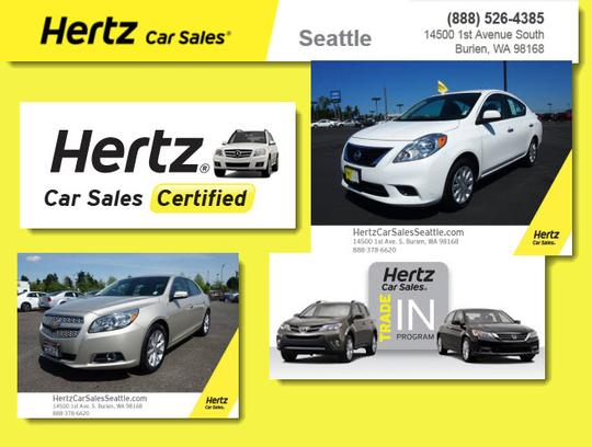 Hertz Car Sales Seattle