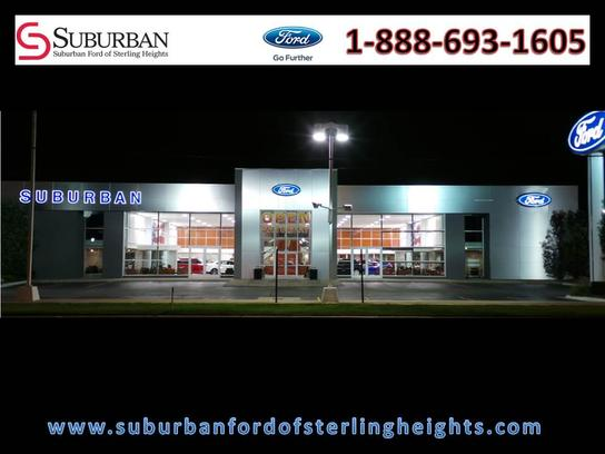 Suburban Ford Of Sterling Heights >> Suburban Ford Of Sterling Heights Car Dealership In Sterling Heights
