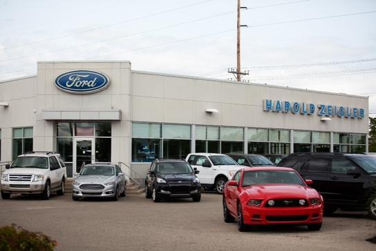 Harold Zeigler Ford Dealer >> Zeigler Ford Lowell Car Dealership In Lowell Mi 49331 Kelley Blue