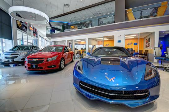 McCluskey Chevrolet Kings Auto Mall 1