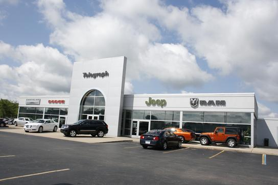Telegraph Dodge Chrysler Jeep RAM car dealership in TAYLOR, MI 48180
