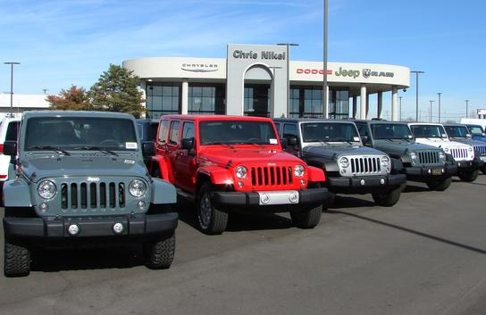 Jeep Wrangler Dealership >> Chris Nikel Chrysler Jeep Dodge Car Dealership In Broken Arrow Ok