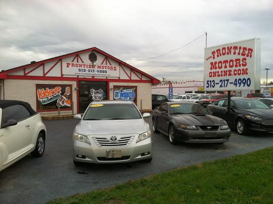 Car Dealership Ratings And Reviews Frontier Motors Oh