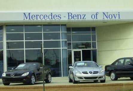 Mercedes Benz Of Novi Car Dealership In Mi 48375 Kelley Blue Book