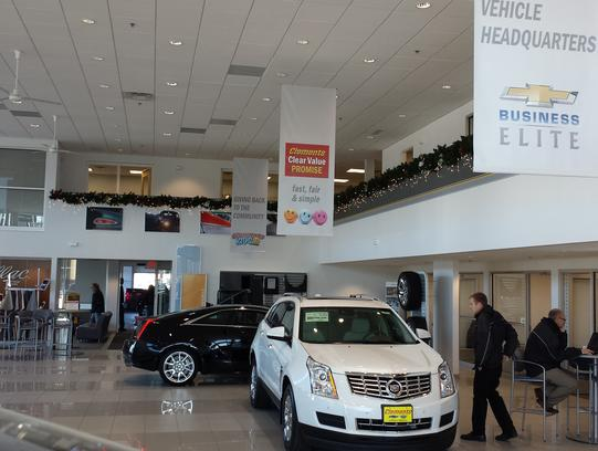 Clements Chevrolet Cadillac car dealership in Rochester ...