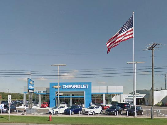 Dick Genthe Chevrolet Car Dealership In Southgate Mi 48195