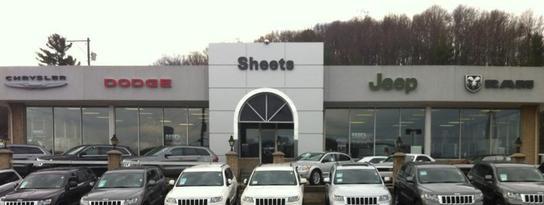 Sheets Chrysler Jeep Dodge