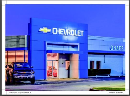 Car Dealership Ratings And Reviews Graff Chevrolet Tx In