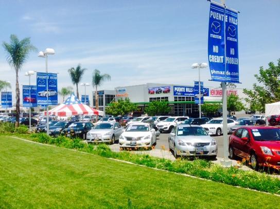 Puente Hills Mazda Car Dealership In City Of Industry Ca