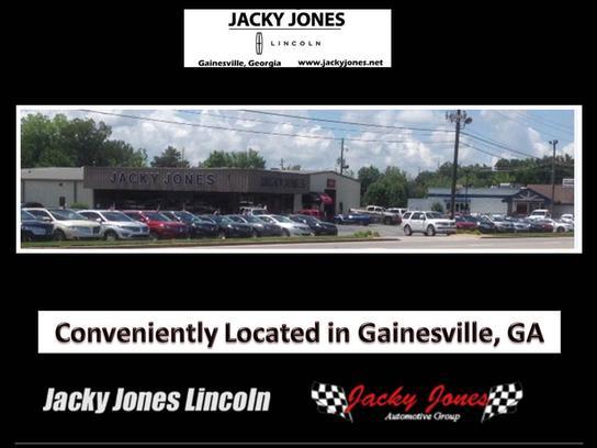 Jacky Jones Auto Group >> Jacky Jones Lincoln Car Dealership In Gainesville Ga 30504