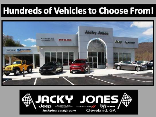 Jacky Jones Chrysler Dodge Jeep RAM car dealership in CLEVELAND, GA