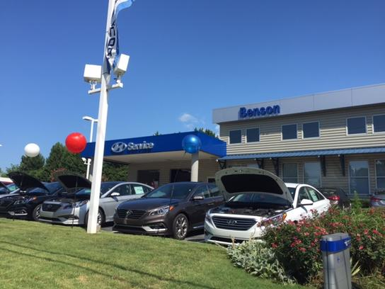 Benson Hyundai Car Dealership In Spartanburg Sc 29301