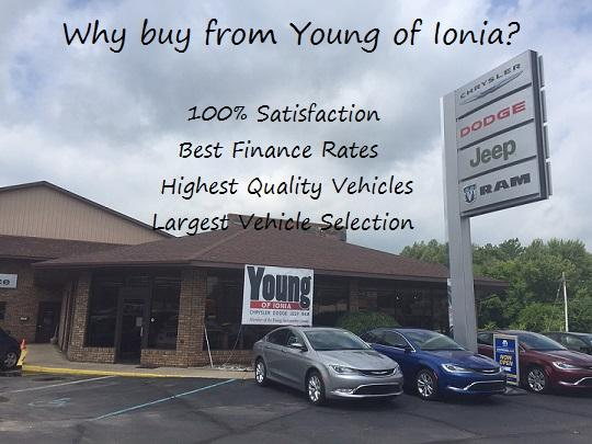 Young Chrysler Dodge Jeep RAM of Ionia