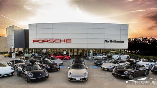 Porsche North Houston car dealership in Houston, TX 77090