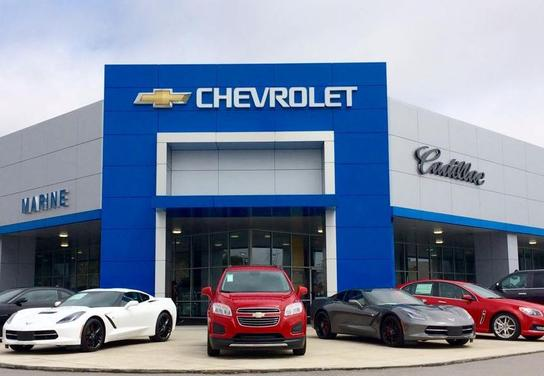 Marine Chevrolet Cadillac Car Dealership In Jacksonville Nc
