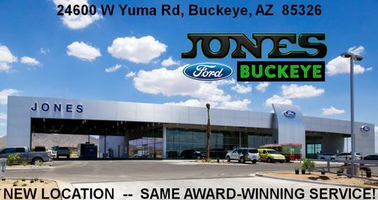 Jones Ford Buckeye >> Jones Ford Buckeye Car Dealership In Buckeye Az 85326 Kelley Blue