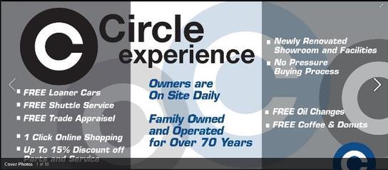 Circle Auto Group Car Dealership In Shrewsbury Nj 07702