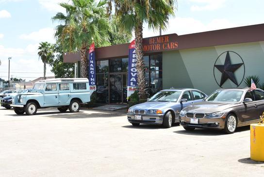 bemer motor cars car dealership in houston tx 77063 kelley blue book. Black Bedroom Furniture Sets. Home Design Ideas