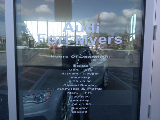 Audi Fort Myers Car Dealership In FORT MYERS FL Kelley - Audi fort myers