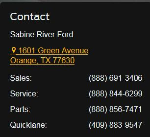 Sabine River Ford 1