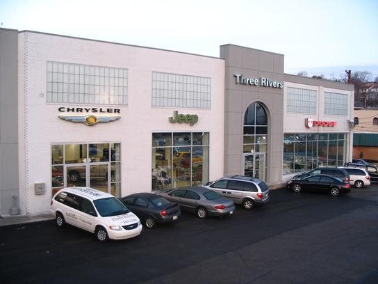 Great Three Rivers Chrysler Jeep Dodge LLC Car Dealership In Pittsburgh, PA 15226  | Kelley Blue Book
