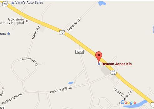Deacon Jones KIA Car Dealership In GOLDSBORO, NC 27534 1618   Kelley Blue  Book