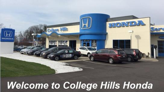 College Hills Honda Car Dealership In Wooster, OH 44691 | Kelley Blue Book