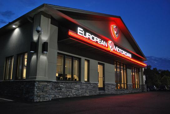 European Motorcars car dealership in Middletown, CT 06457